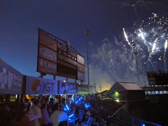 pawsox fireworks