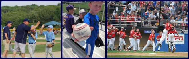 RIBBE Baseball Collage