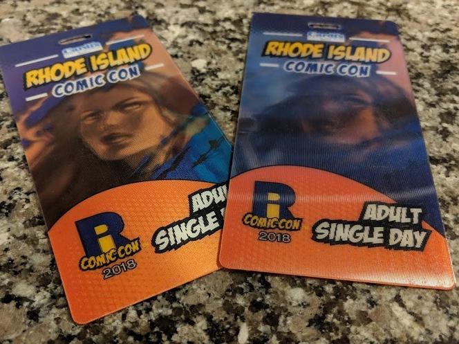 comic con tickets to saturdays rhode island comic con event