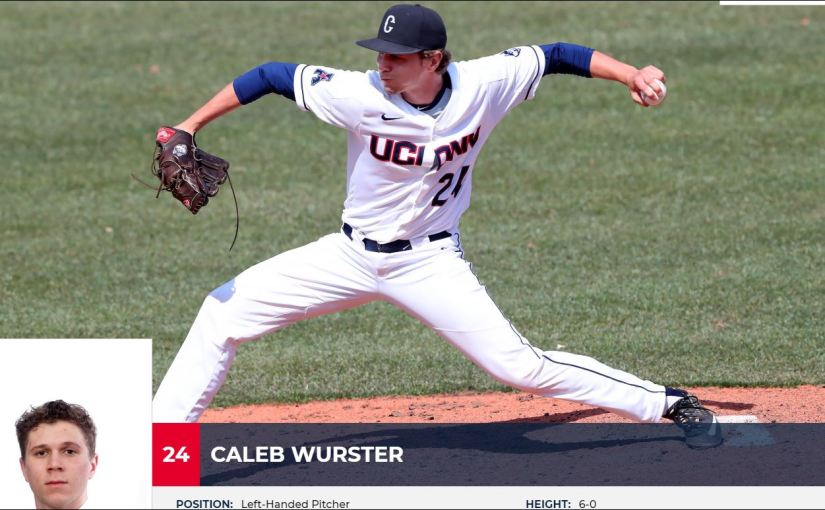Now Pitching For The Falmouth Commodores…RI's CalebWurster