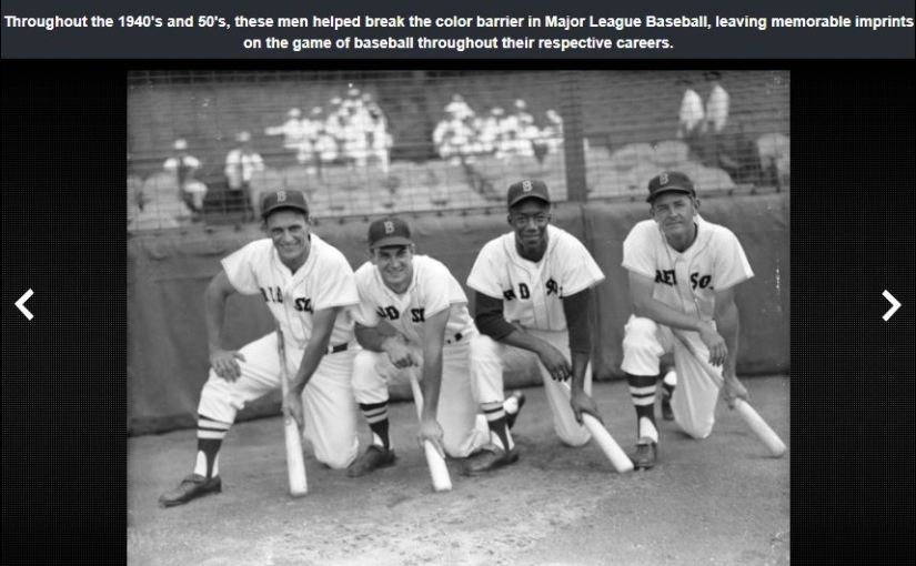 The RIBBE Celebrates Great Achievements in Baseball For February's Black HistoryMonth
